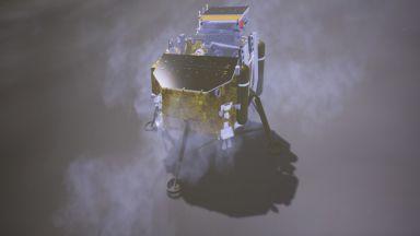 Китайската станция излезе от спящия режим на тъмната страна на Луната