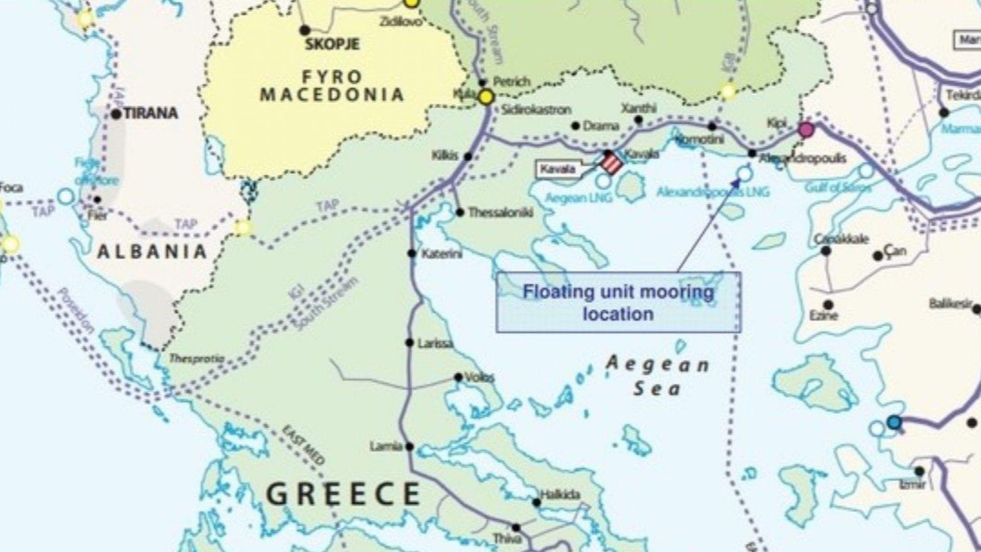 Борисов и Ципрас ще дадат старт на изграждането на междусистемната газова връзка между двете страни