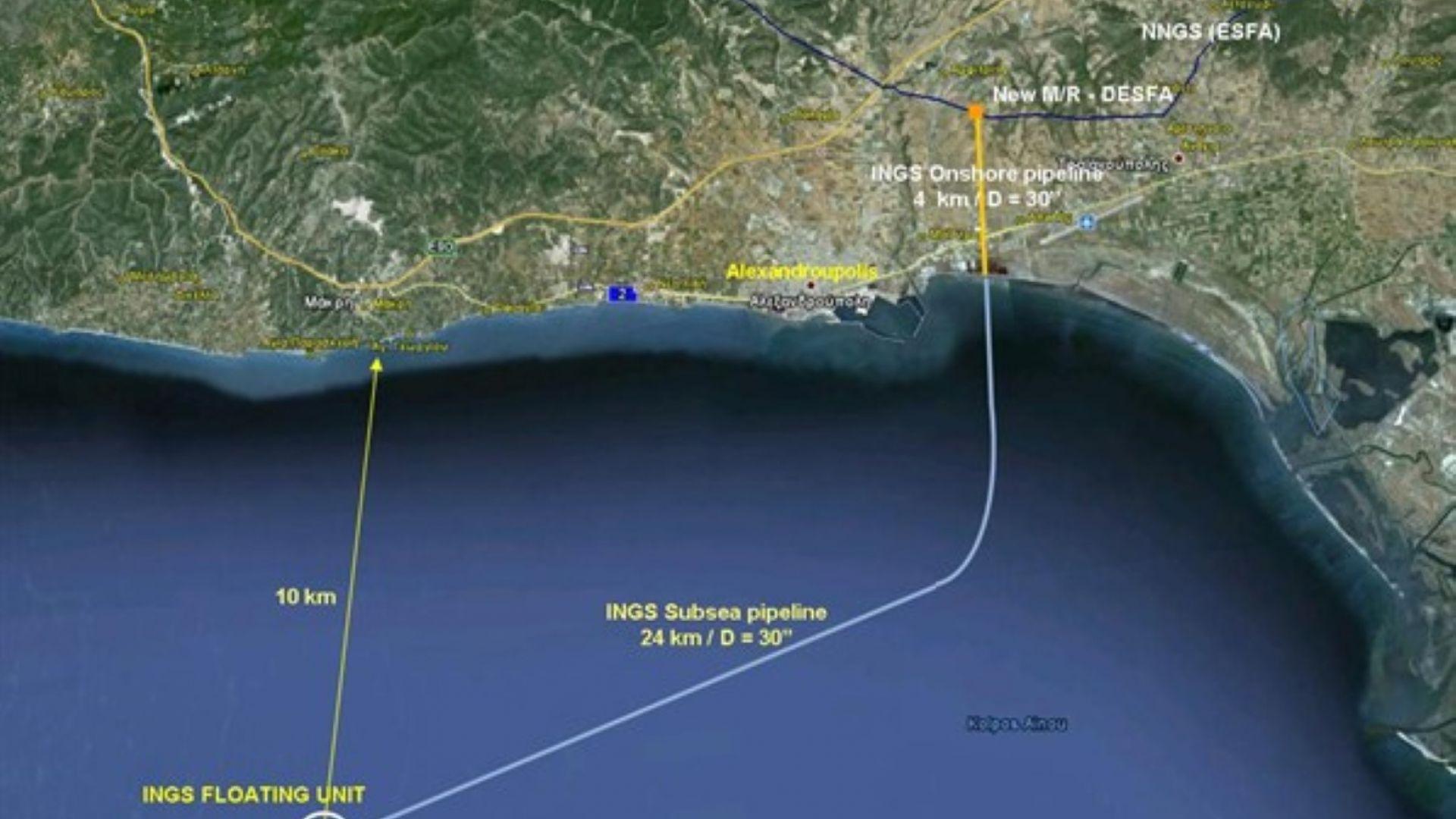 Бум на заявките за доставка на втечнен газ в Александруполис