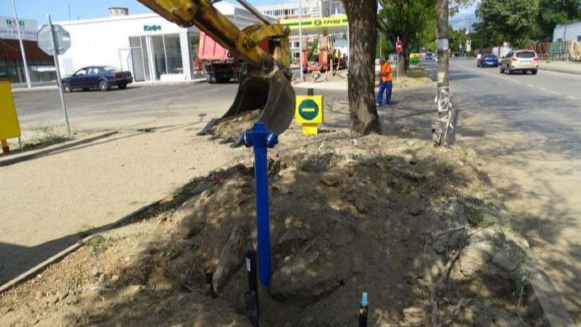 Спукаха газопровод в Пловдив, аварията е овладяна