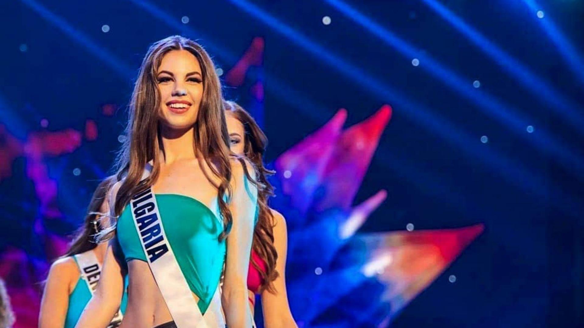 """Габи Топалова: Почувствах се част от голямото семейство на """"Мис Вселена"""""""