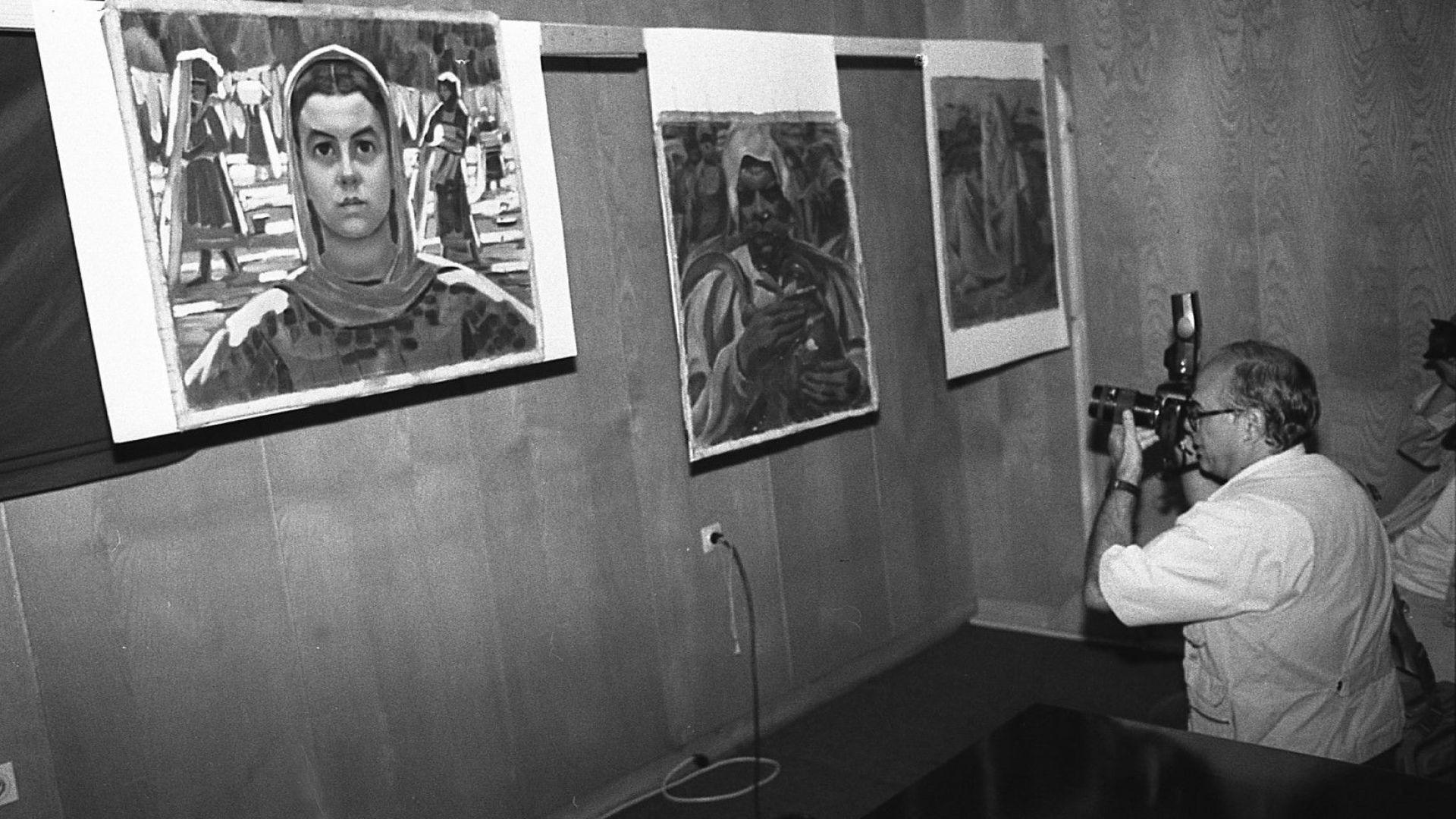 Намериха 10 от откраднатите картини в антикварна къща (обновена)