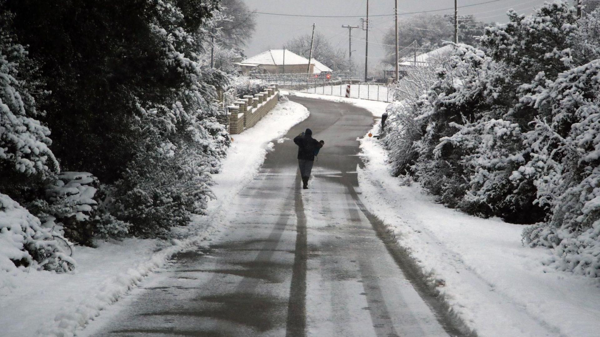 Зимата настъпва на Балканите