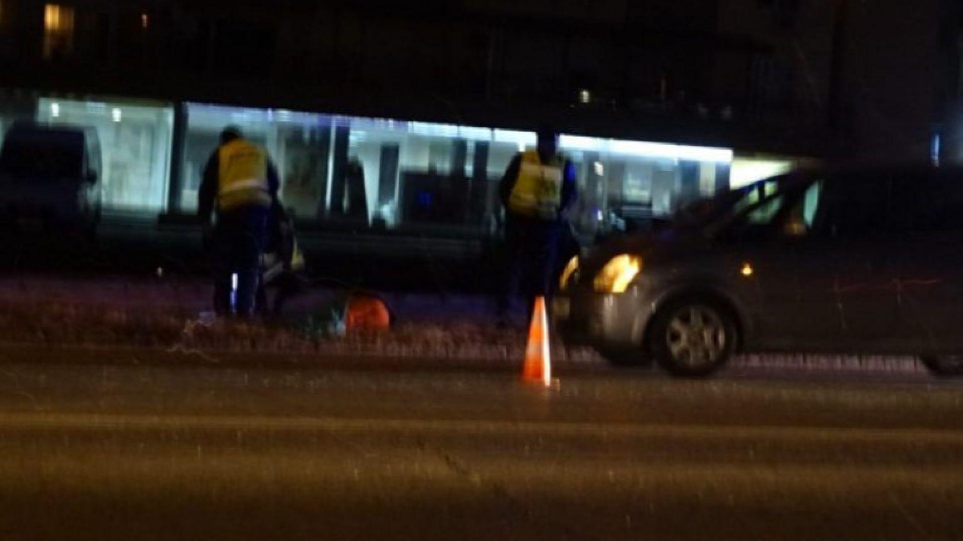 Жена, блъсната от лек автомобил, загина на място