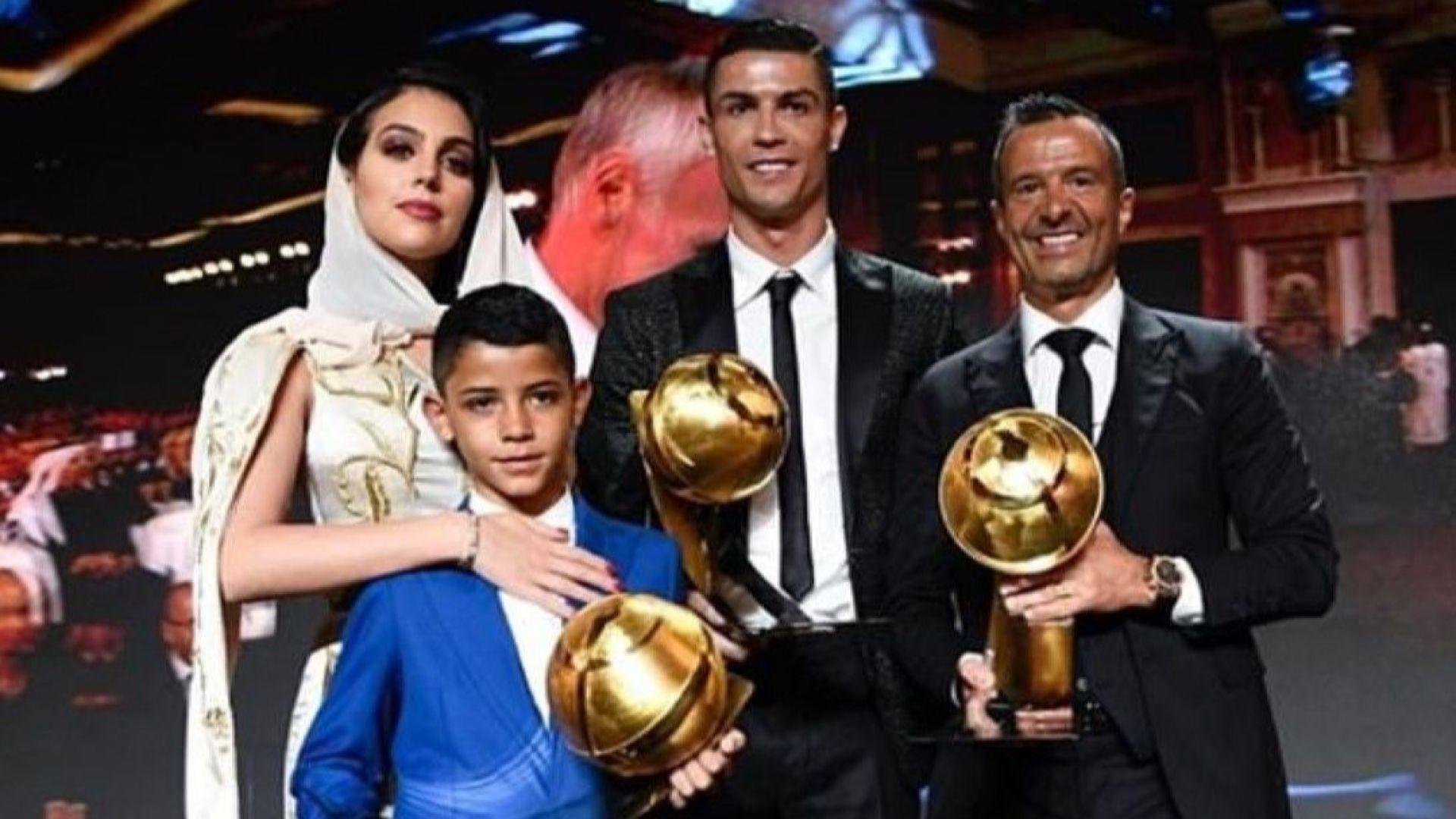 Роналдо получи нова престижна награда, а Джорджина се забули