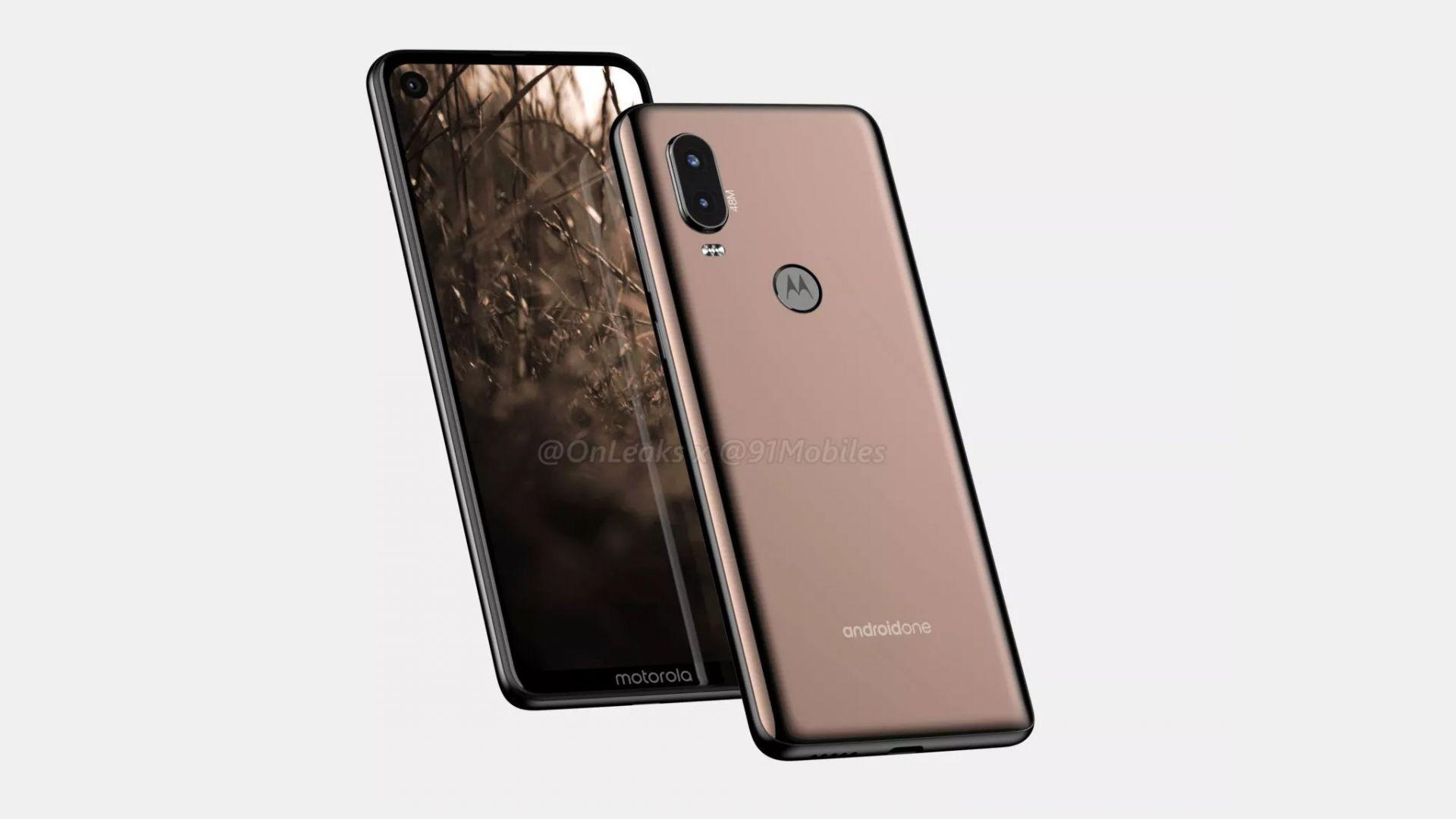 Motorola P40 ще има изключително модерен дизайн