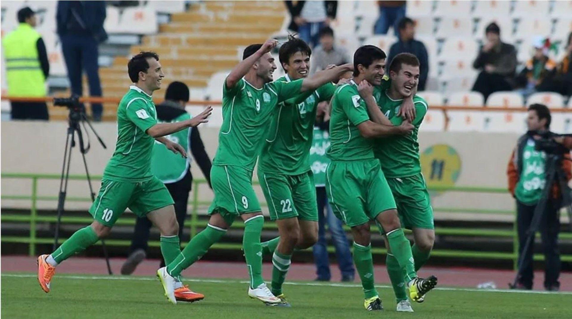 Туркменистан празнува класирането си за турнира