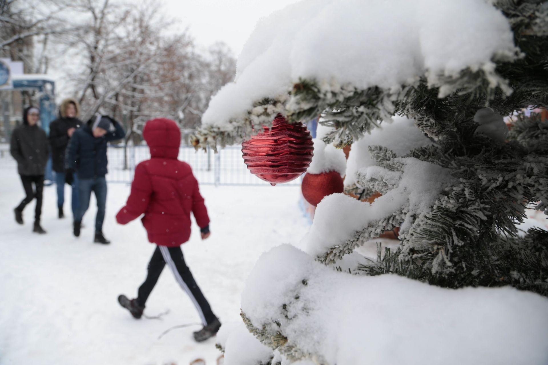 Снежна картина от Сараево