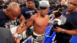 Катастрофиралият шампион в бокса е извадил уникален късмет