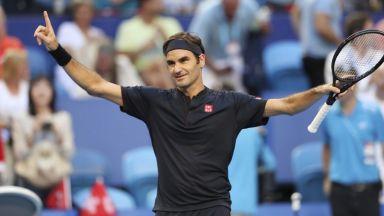 Федерер е зареден за победи след най-добрата си ваканция - в каравана