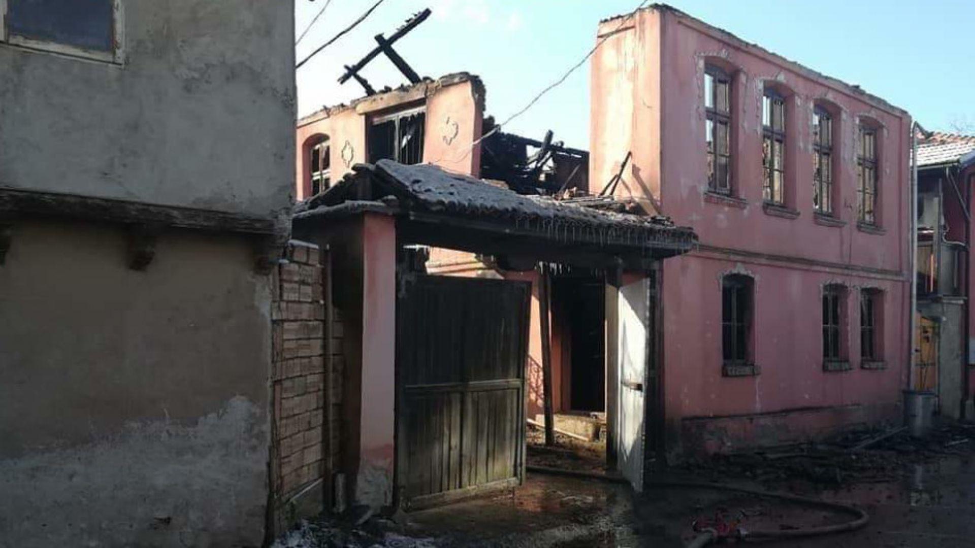 Мъж изгоря при пожар в къща в Лясковец