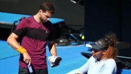 Григор и Серина се готвят заедно за US Open