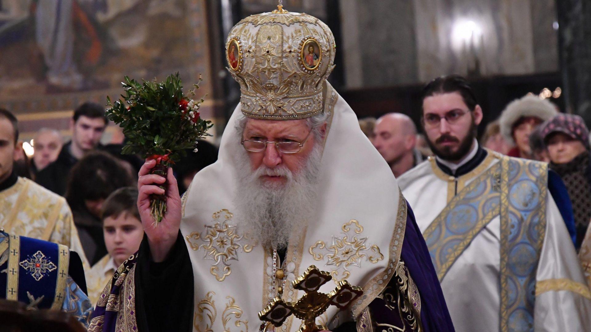 Патриарх Неофит отслужи водосвет на българските бойни знамена