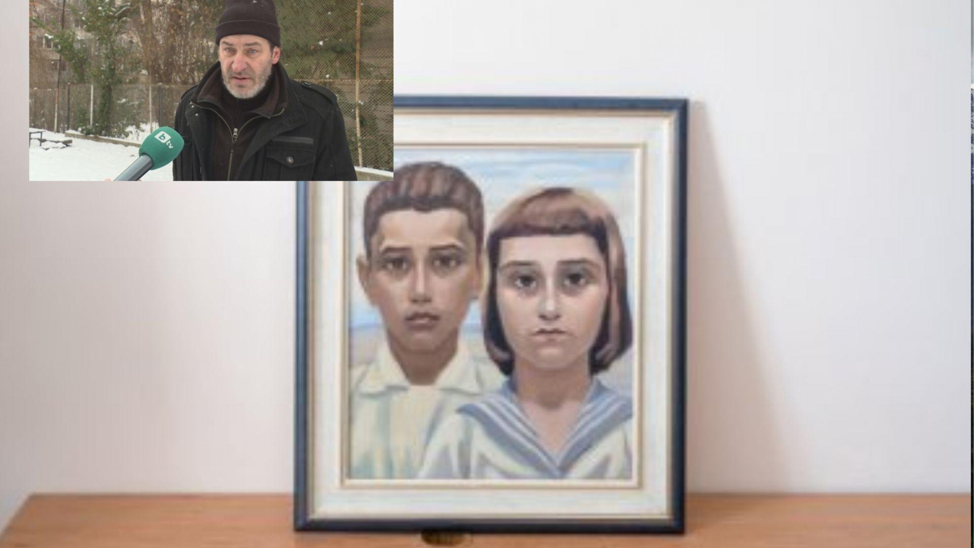 Продавачът на крадените картини проговори, получил 6500 лв. за тях