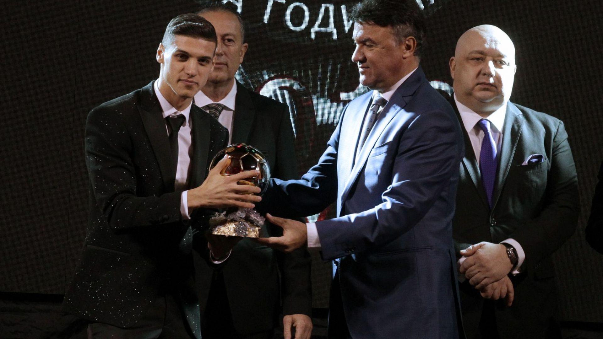 Кирил Десподов е футболист №1 на България