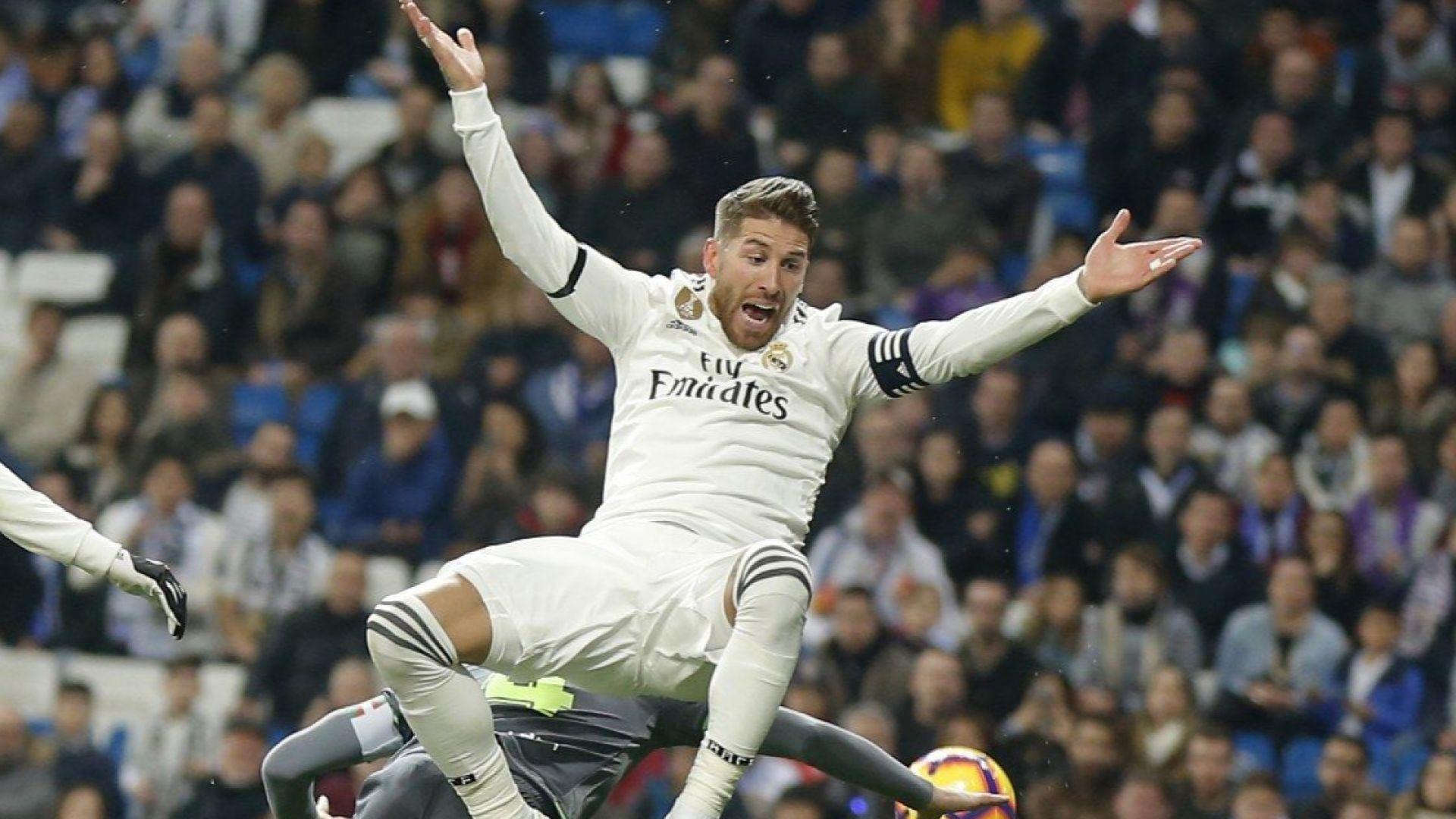Реал Мадрид продължи със срамното представяне