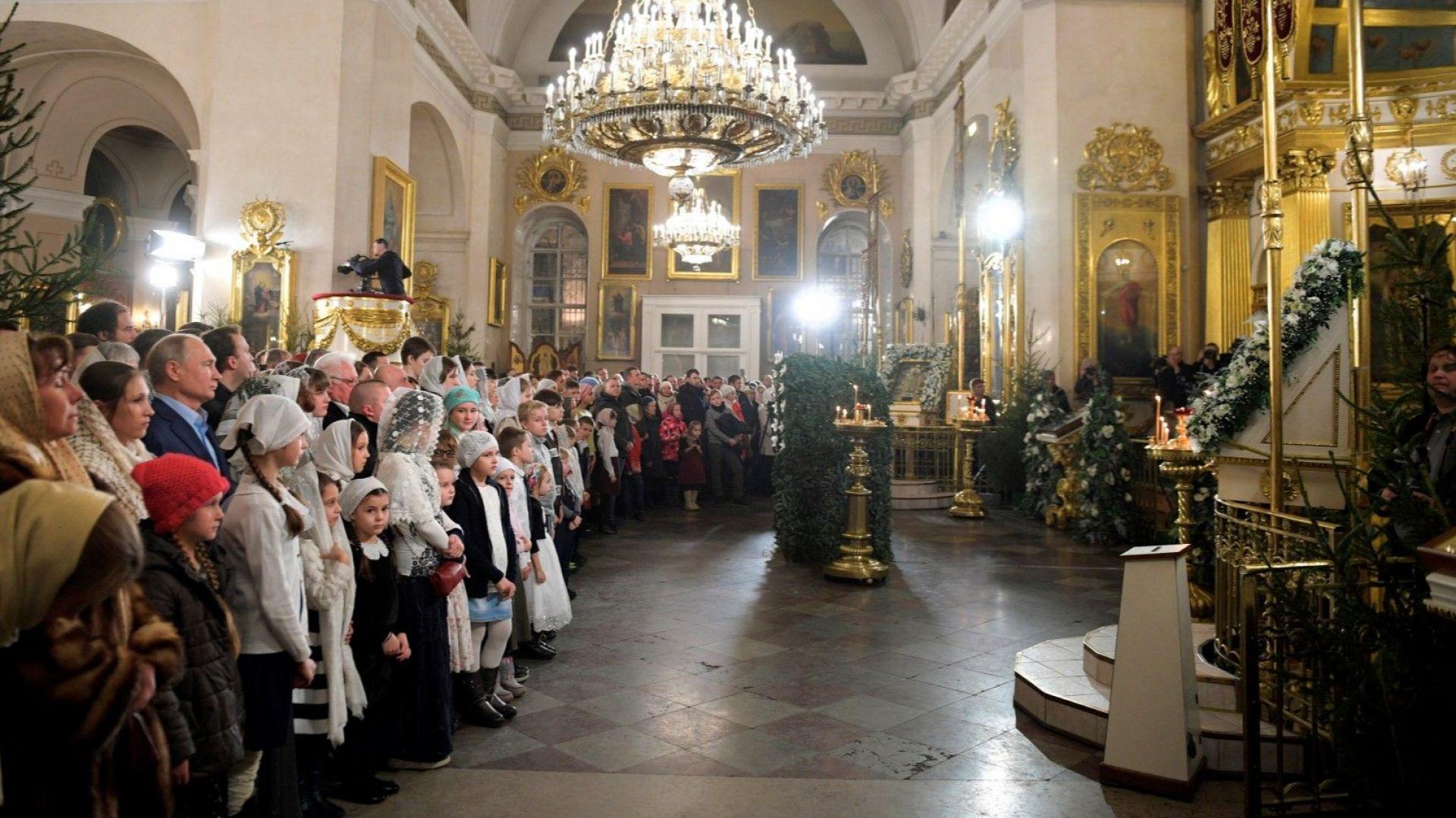 Патриарх Кирил: Рождество Христово е хубав повод да се подари любов, грижа и внимание