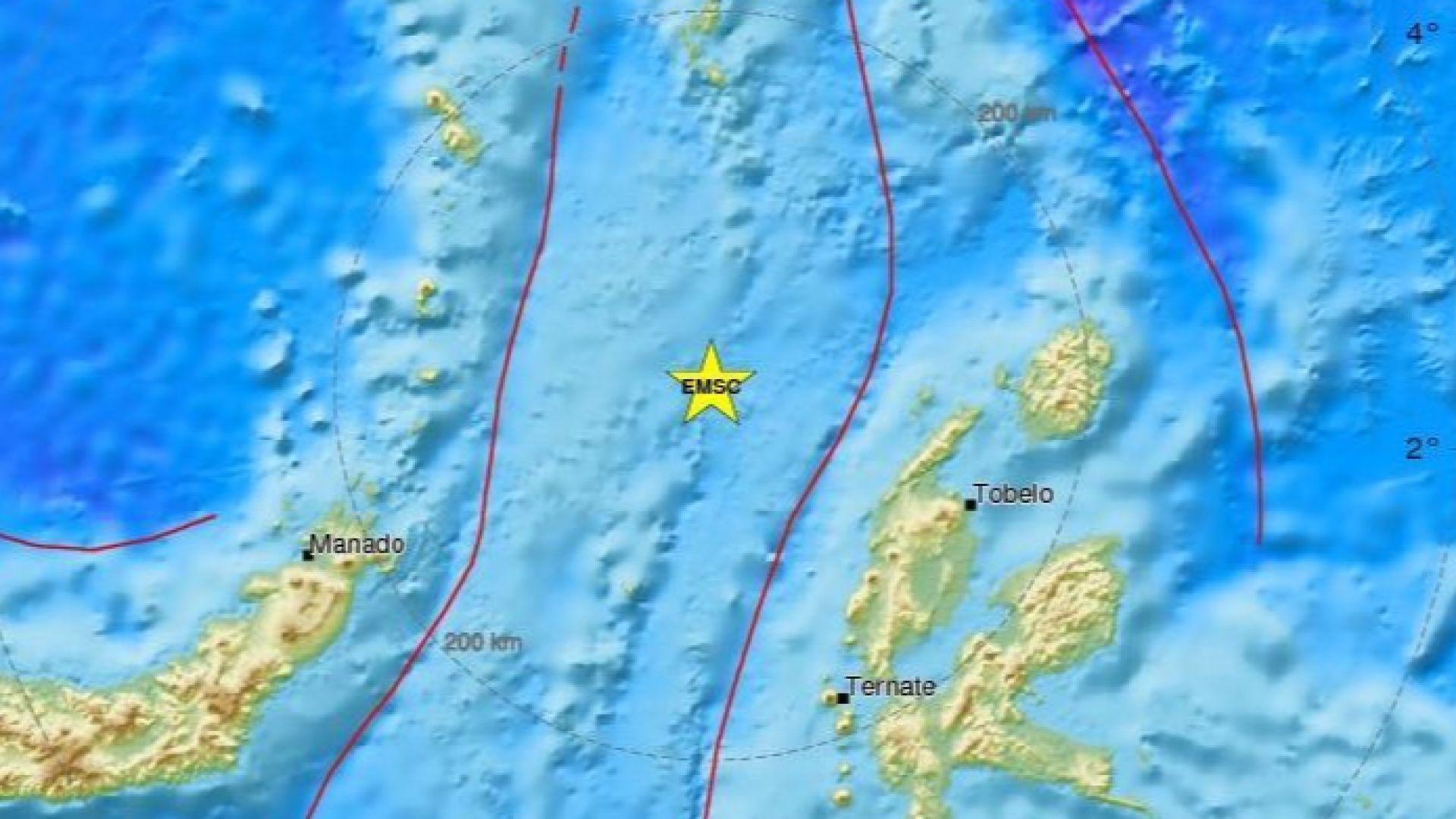 Отново силно земетресение в Индонезия