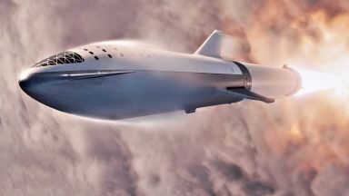 Илон Мъск разкри как ще изглежда новият Starship