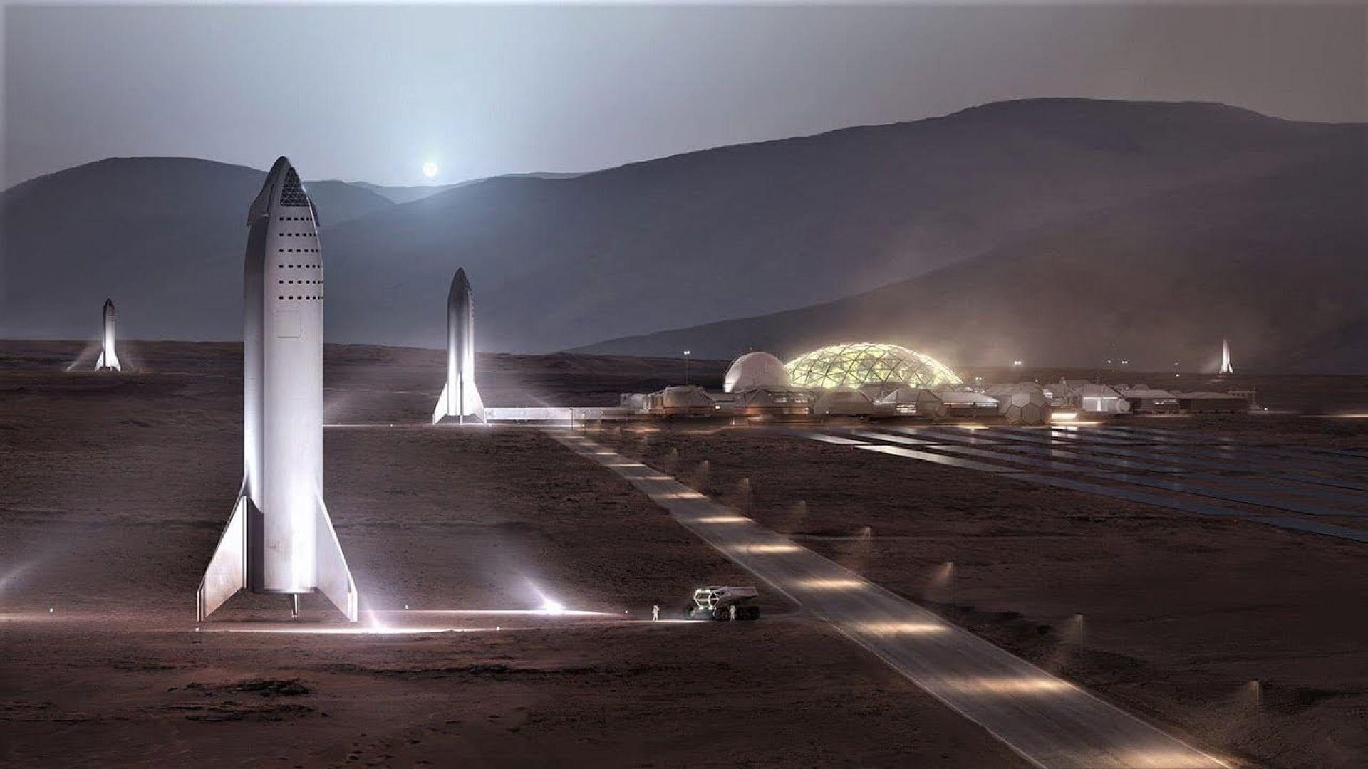 Илон Мъск: За 20 години ще колонизираме Марс