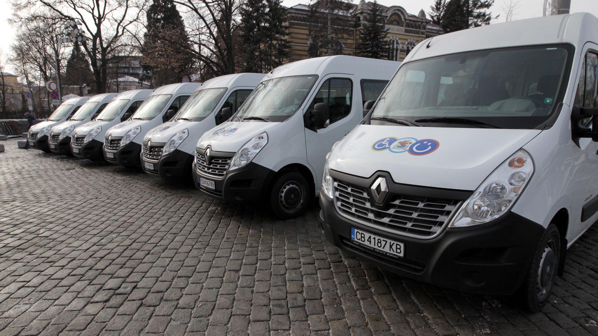 Снимка: Нови микробуси за хората с увреждания тръгват в София