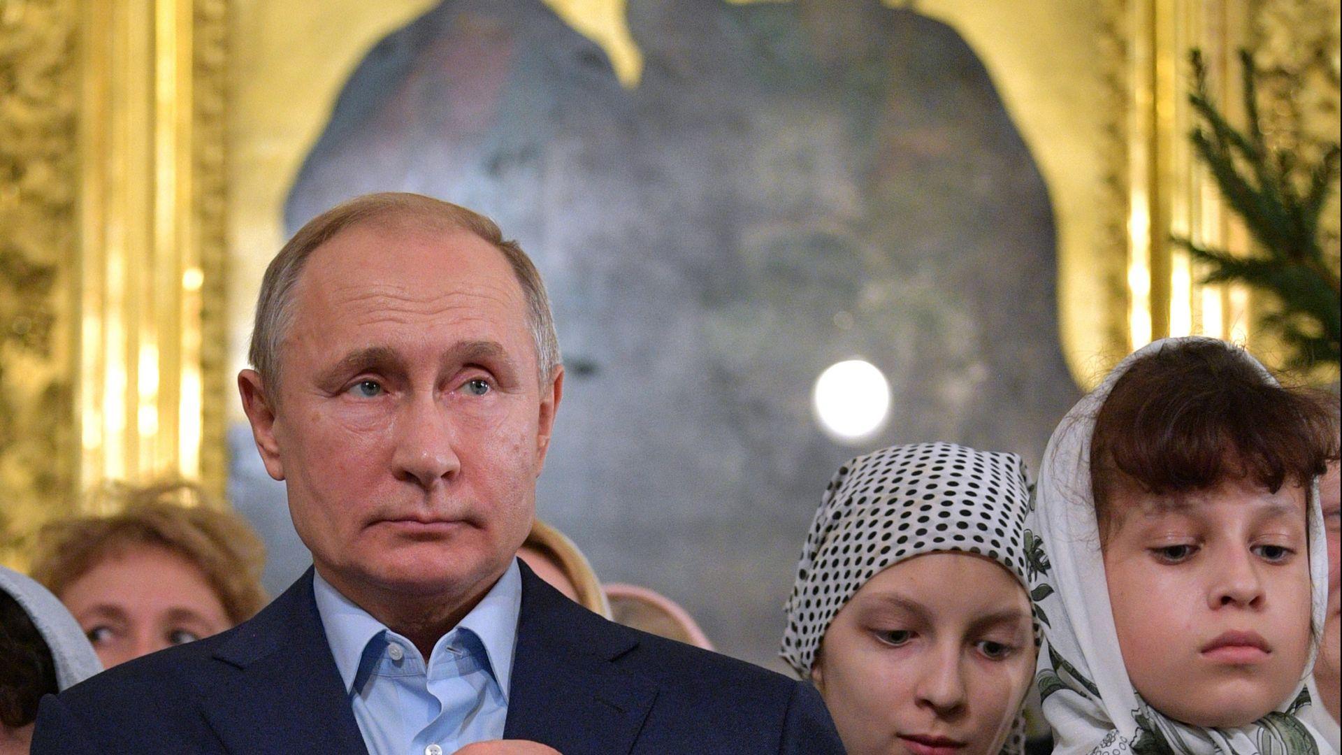 Путин поздрави православните християни за Коледа