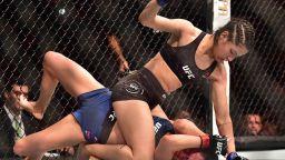 Какво се случва, когато опиташ да обереш жена MMA боец?