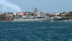 Американски боен кораб влезе в Черно море, руски стражеви съд го държи под око
