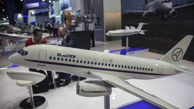 САЩ блокираха сделка за продажба на руски самолети Sukhoi Superjet 100 на Иран