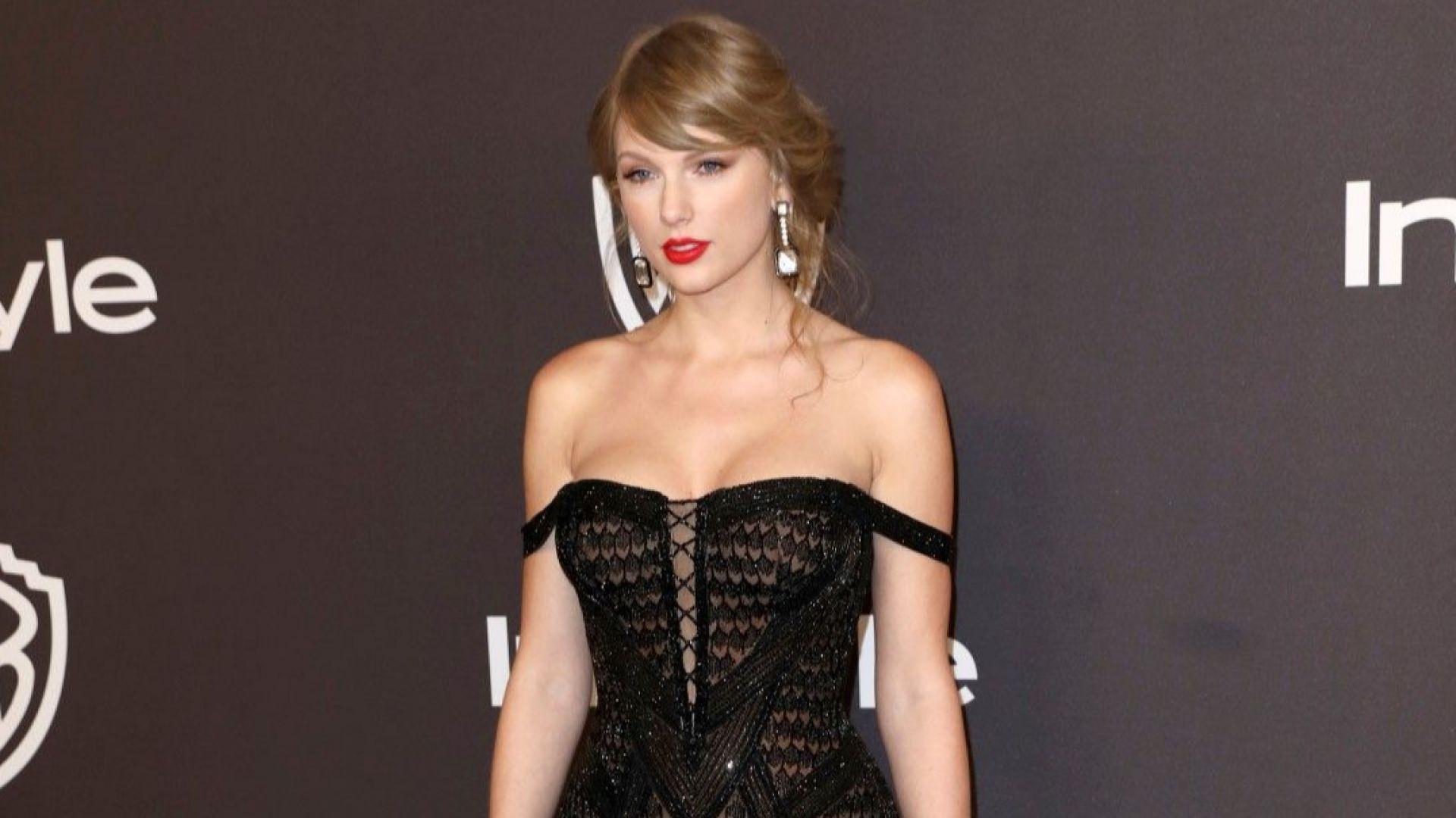 Тейлър Суифт оглави британската класация за албуми