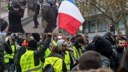 """Арестуваха шампион по бокс, бил полицаи при протест на  """"жълтите жилетки"""" в Париж"""