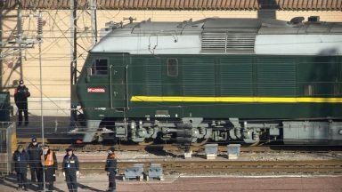 Ким пристигна с бронирания си влак в Пекин навръх рождения си ден