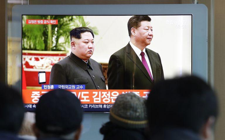 Лидерите на Северна Корея и Китай на предишната им среща