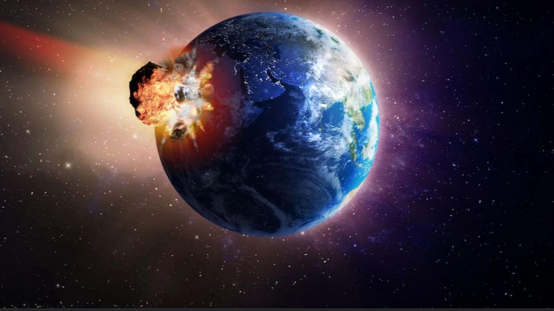 Пресъздадоха гигантското цунами от метеорита, убил динозаврите