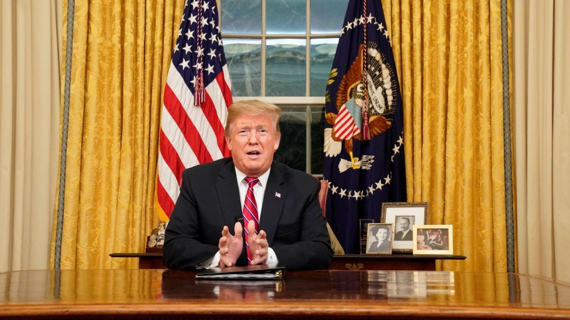 Тръмп: На границата има разрастваща се криза. Фактите обаче сочат друго