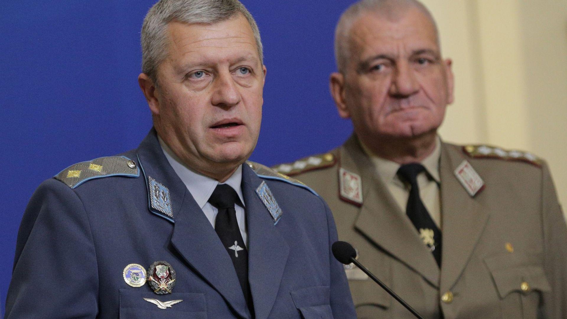 След проверката на МО без наказание за ген. Цанко Стойков