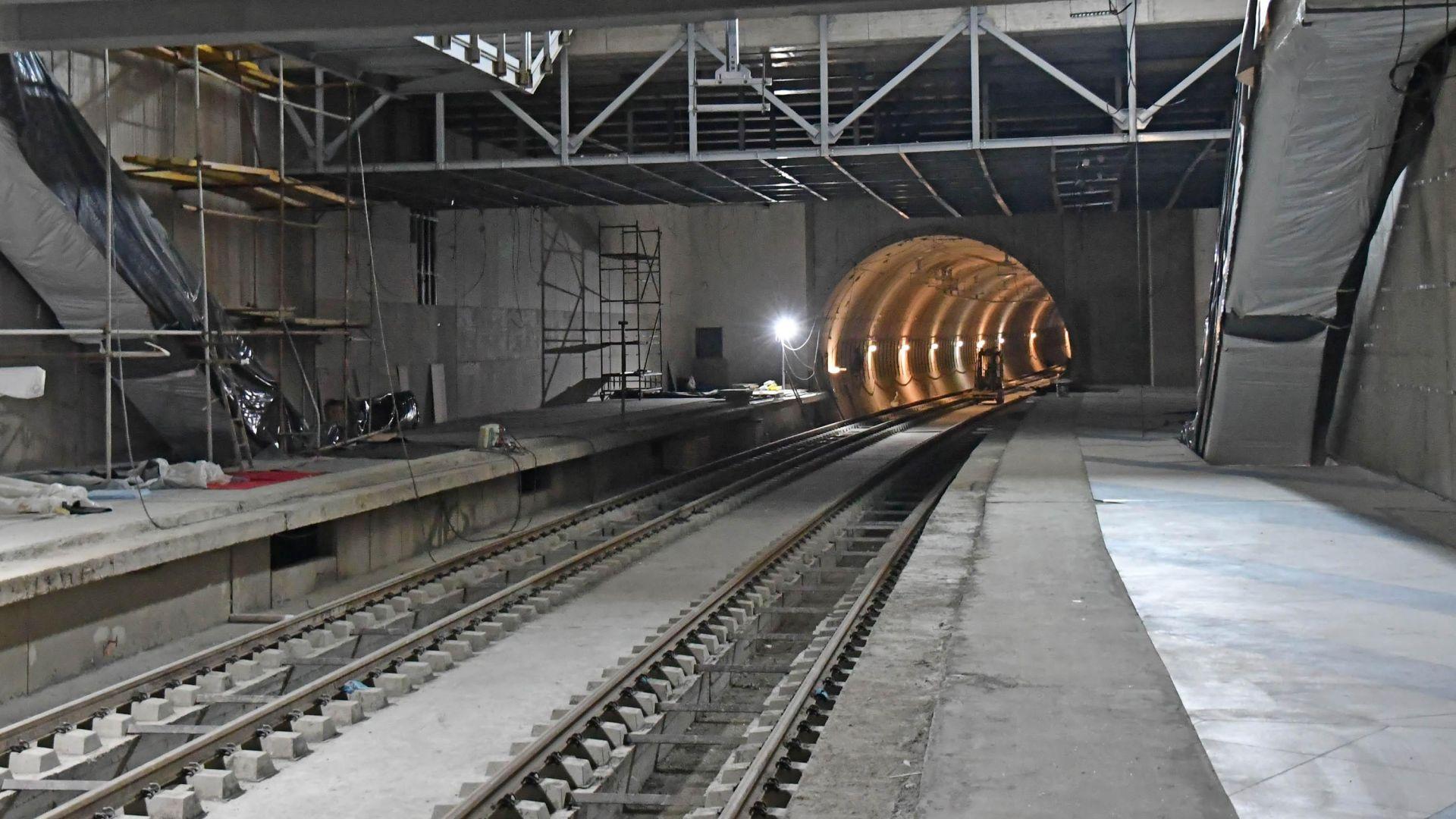 Нови тапи в центъра на София заради строежа на метрото