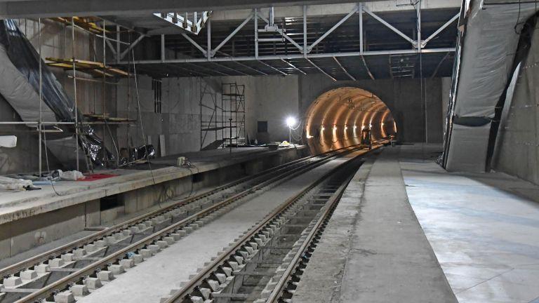 Бъдещото разклонение на третата метролиния в София, което ще минава