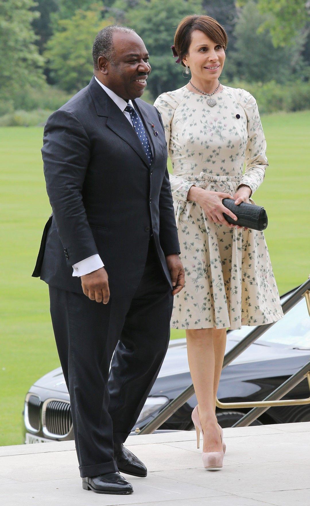 Президентът и съпругата му Силвия през 2012 година в Лондон