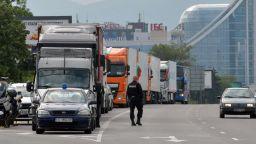 Автобусните превозвачи се отказаха от протеста си на 18 февруари