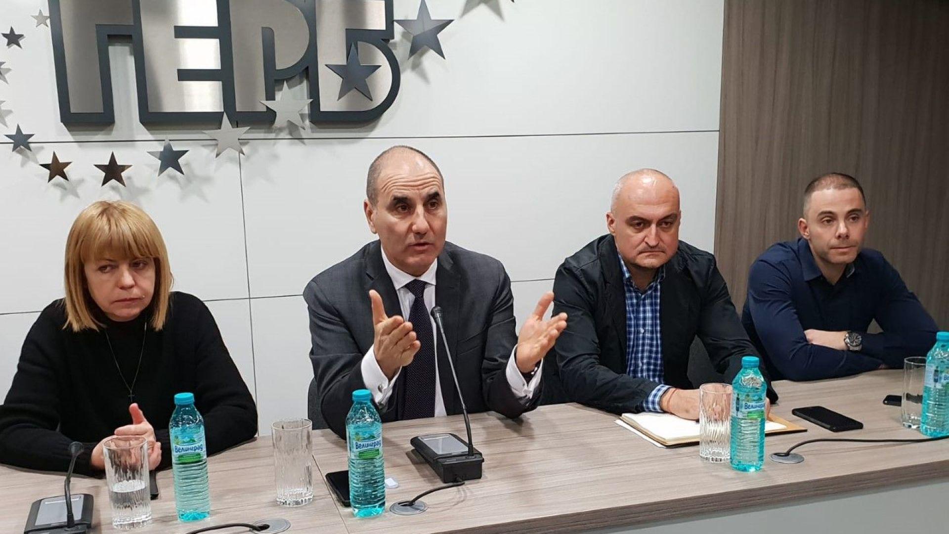 Цветанов: Победим ли на европейските избори - БСП ще изпадне в хаос