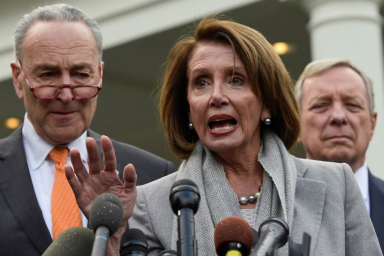 Чък Шумър и Нанси Пелоси - лидери на демократите в Сената и Конгреса