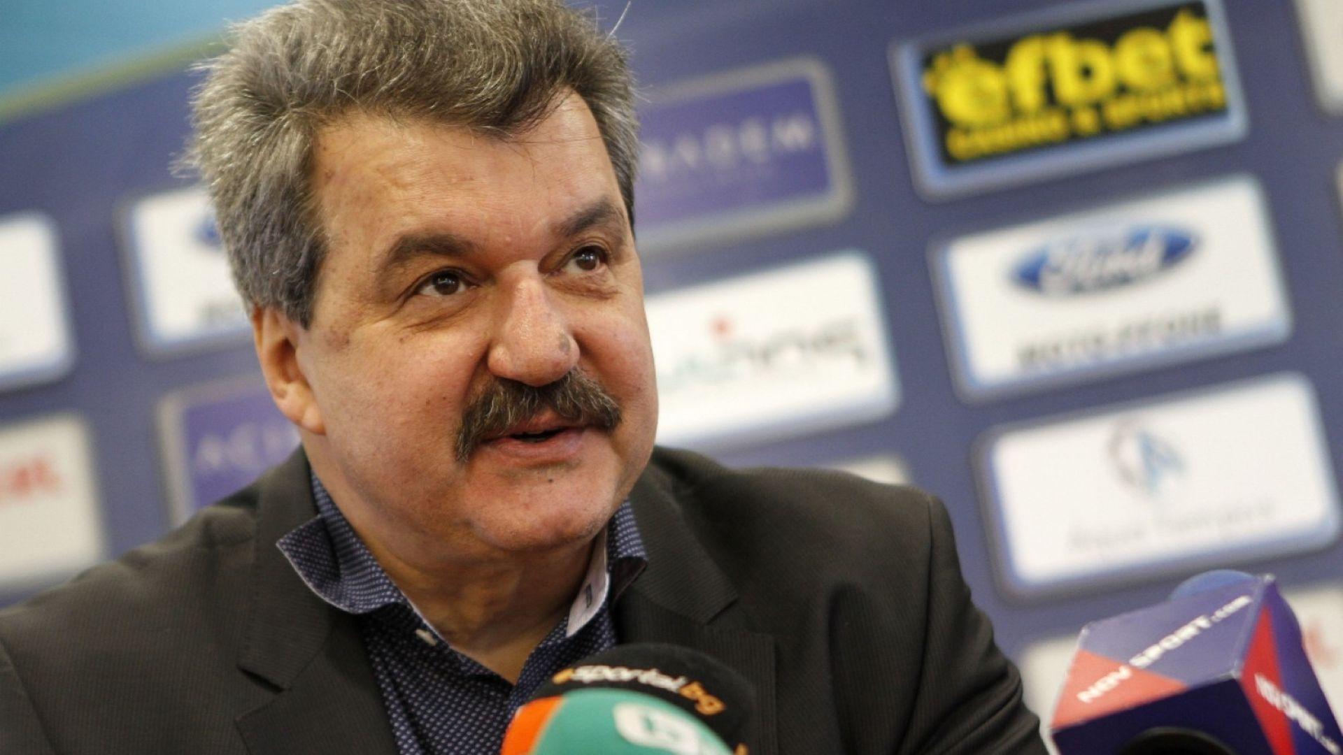 Тодор Батков: Левски вече е в добри ръце