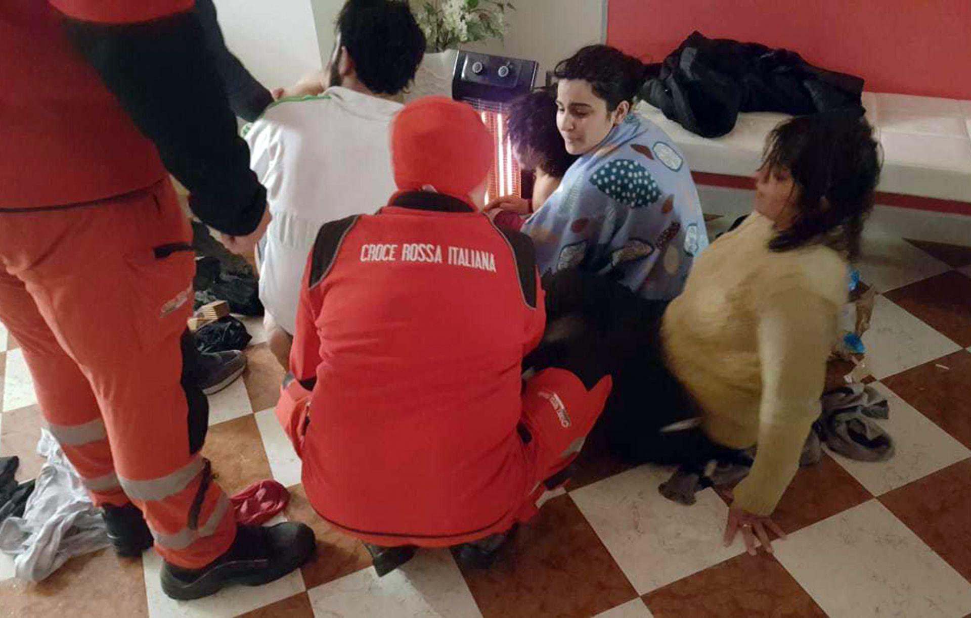 Според италианското вътрешно министерство това е първият случай на пристигнали по море в Италия мигранти за тази година