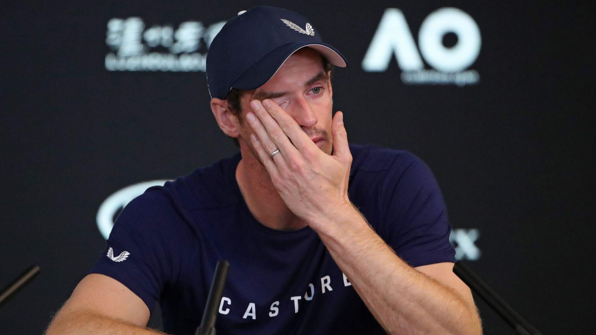 Анди Мъри разтърси тениса през сълзи: Всичко свърши