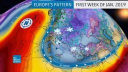 Идва ли у нас еднометровият сняг от Алпите и Сърбия?