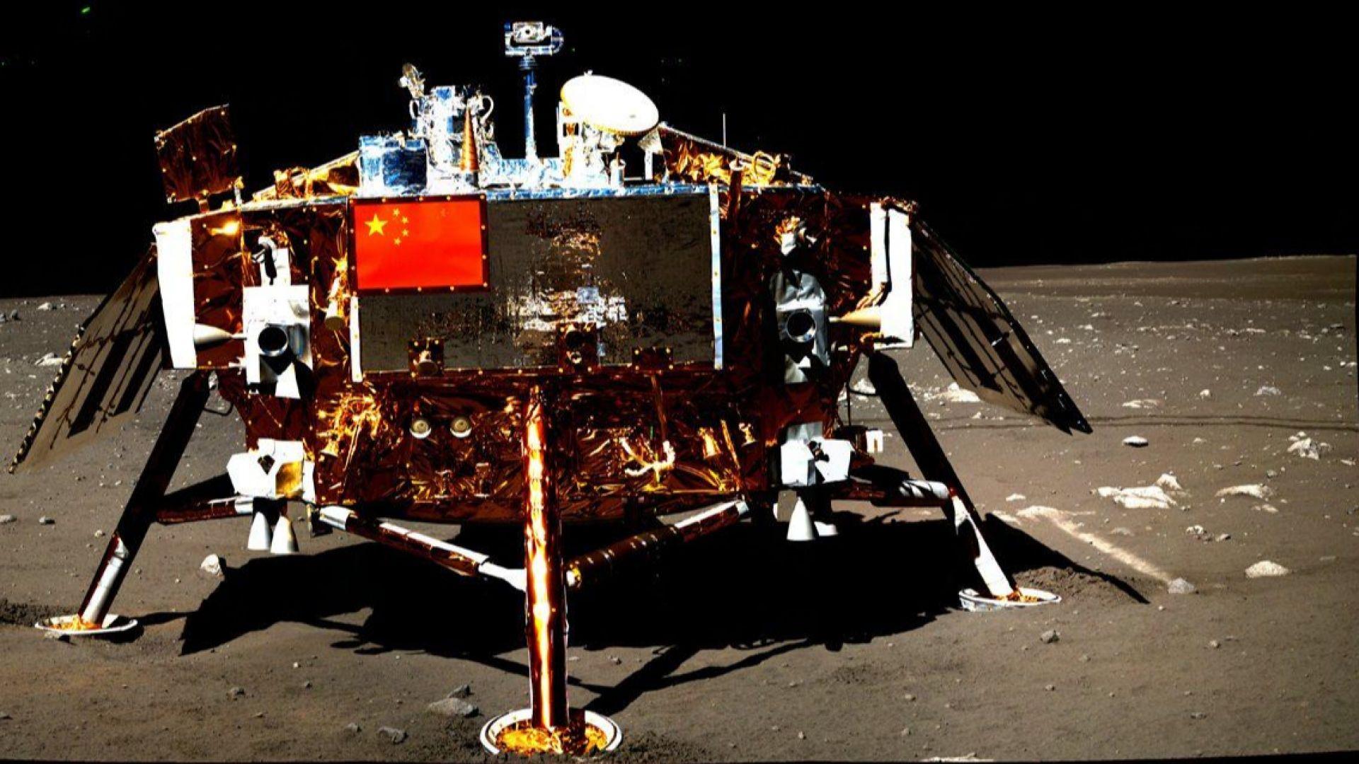 Китай с нови снимки от обратната страна на Луната