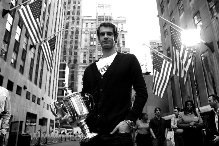 2013 г., Ню Йорк - Анди е шампион на US Open.
