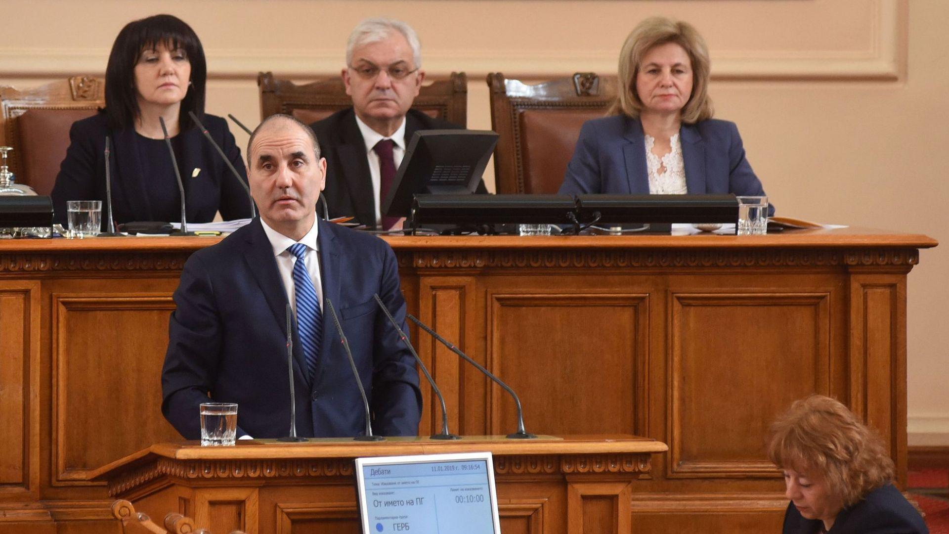 Цветанов: Нека през 2019-а политическите аргументи да вземат връх над заклинанията