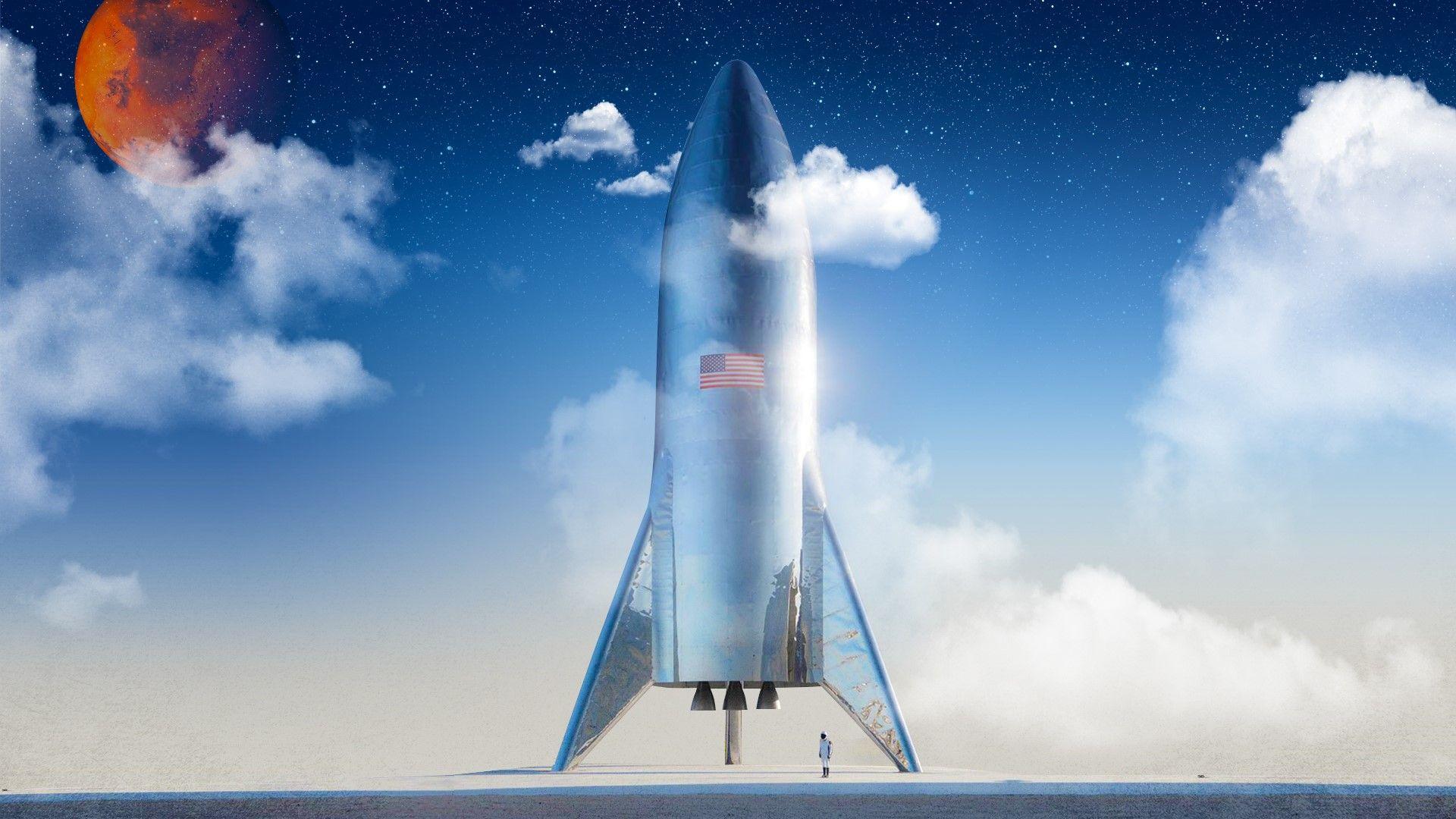 SpaceX тества двигателите на новия си космически кораб